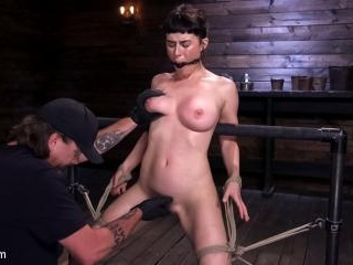 Hot Bodied, All Natural Rope Slut Submits to Torme