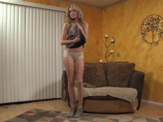 Emily Kae gives a blowjob and footjob plus sex