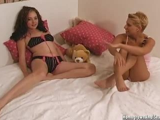 Amber And Marissa Do Ass To Mouth Action