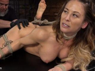 Blond MILF Cherie DeVille in Grueling Bondage Made