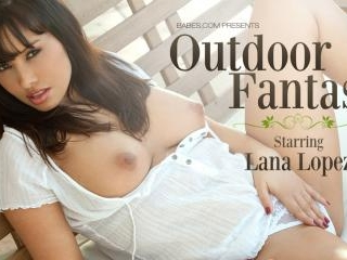 Lana Lopez in Outdoor Fantasy