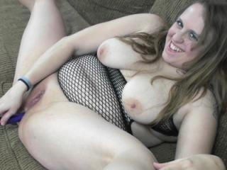 Chubby blonde housewife Alexsis Sweet in a slutty