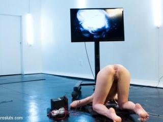 Ass Up Sensory Deprivation Electro DP!!