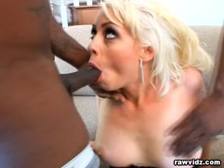 Blonde Nympho Nasty DP Fuck