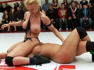 Darling and Bella Rossi takeon Penny Barber and Ro