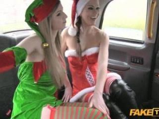 Kind Of Bust-A-Nut Santa Helpers!