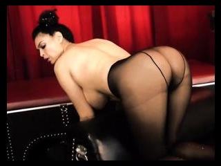 Tera In Her Black Pantyhose