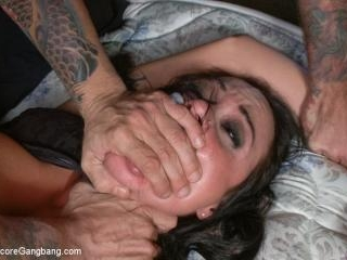 Hot horny parole officer put in her place by bad-b