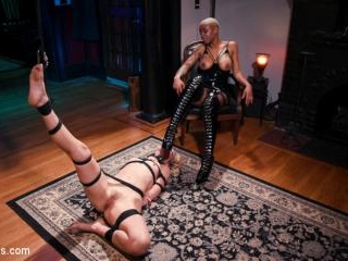 Off The Books: Mona Wales Submits to Mistress Ashl
