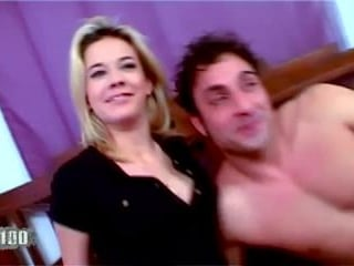 This blonde babe loves the hard anal sex
