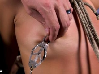 Young and Petite Slut in Grueling Bondage and Torm