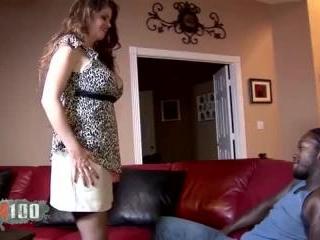 Big tits mature who loves big cocks