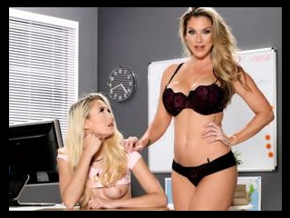 Lesbian Cougars On The Prowl - Kayla Paige & Tana
