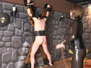 Educating My Slave with A Whip