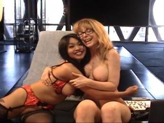 Mika Tan and Nina Hartley