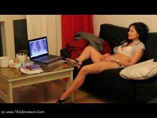 Masturbating over a porn video Pt 3