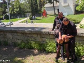 Spanish Slut Frida Sante Fucked Outdoors