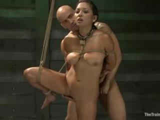 Training Adrianna Luna-Day 1   Kink.com