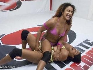 Ultimate Surrender\'s Most Orgasmic wrestler is dra