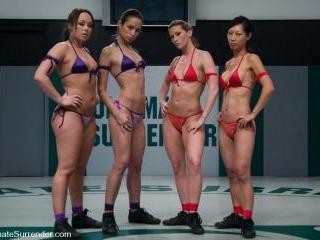 LIVE TAG TEAM LEAGUE Team Purple (3-1) vs Team Red
