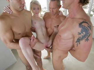 Maddy\'s First Gangbang