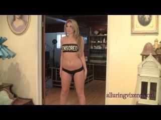 Brianne in a shiny bikini