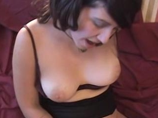 Jezebel Spreads Her Hairy Pussy For Dildo And Cock