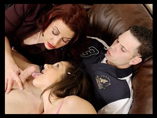 Mothers Teaching Daughters How To Suck Cock #05