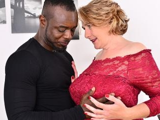 Horny mature Camilla is in for a big hard black co