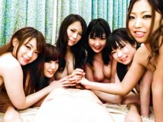 Big titty Japanese orgy with Yui Nanase