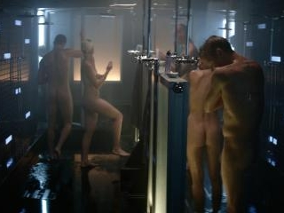 Jonathan and Christopher hit the shower and show o