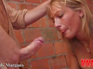 Triple penetration for a sweet blond babe