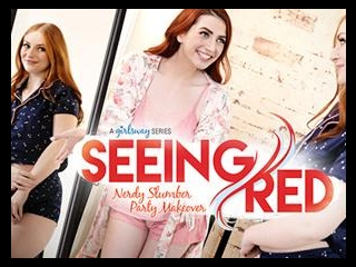 Seeing Red: Nerdy Slumber Party Makeover
