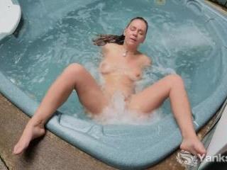 Ruby Wood\'s Erotically Hot Waterplay