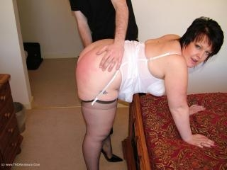 Spanked Handcuffed & Fucked 1