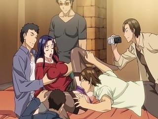 Fabulous drama hentai clip with uncensored group,