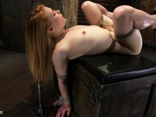 Huge Nipples Tied and Stretched. Double penetrated