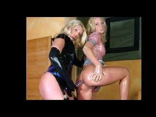 Anal Blonde Latex Dolls