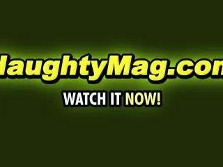 Helena on NaughtyMag.com
