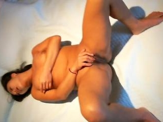 Moaner Asian gf enjoys hardcore threesome fuck