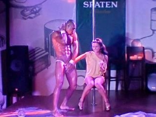 Picking up the strip dancer