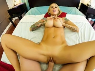 Sarah gets a hot POV massage and fuck