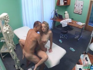 Cute Patient Fucked Hard by Doctor
