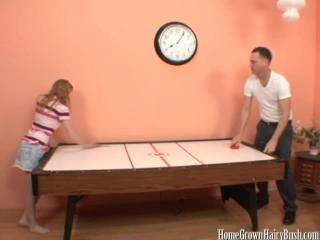 Air Hockey And Hairy Snatch