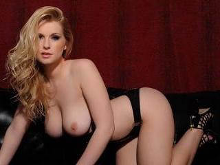 Jessica Davies in her sexy leopard lingerie