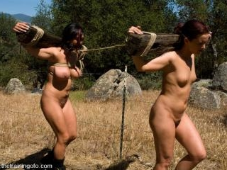 The Training of Sara Faye and Claire Dames, Day On