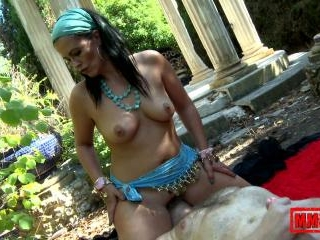 Hot MILF with amazing big ass doing face sitting