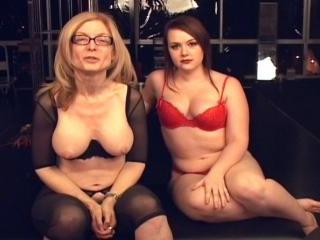 Nina Hartley and Amber Peach