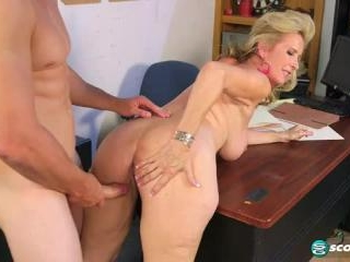 Laura Layne in Laura\'s Quick Fix For An Aching Co