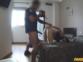 Cop Gets Anal Sex in Spanish Hotel